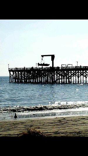 Self docking pier