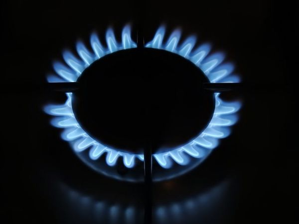 Gas flower Flame Blue Burner - Stove Top Heat - Temperature Gas Stove Burner Stove Domestic Kitchen Domestic Room Close-up Burning No People Smart Simplicity Still Life StillLifePhotography Indoors  Indoor Gas Kitchen
