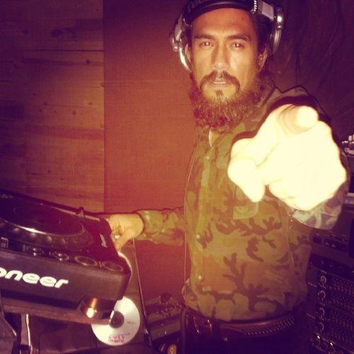 Papa G ringing in 2014 rastaman style Lionorder Papag Thisischicago NYE reggae