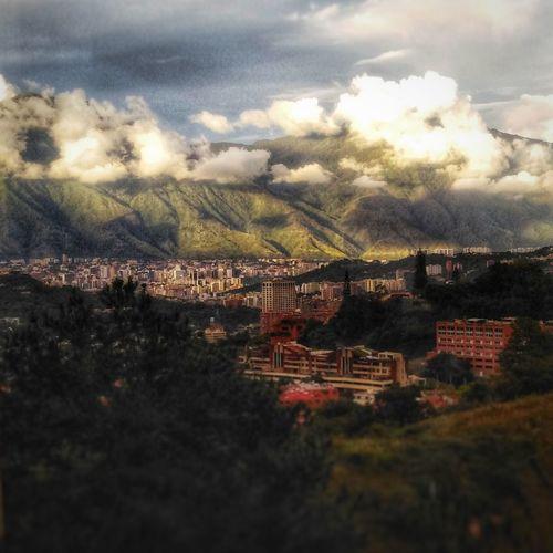 Caracas ❤️ Caracas El Avila .Caracas Venezuela GuarairaRepano Tree Mountain Sky Architecture Cloud - Sky