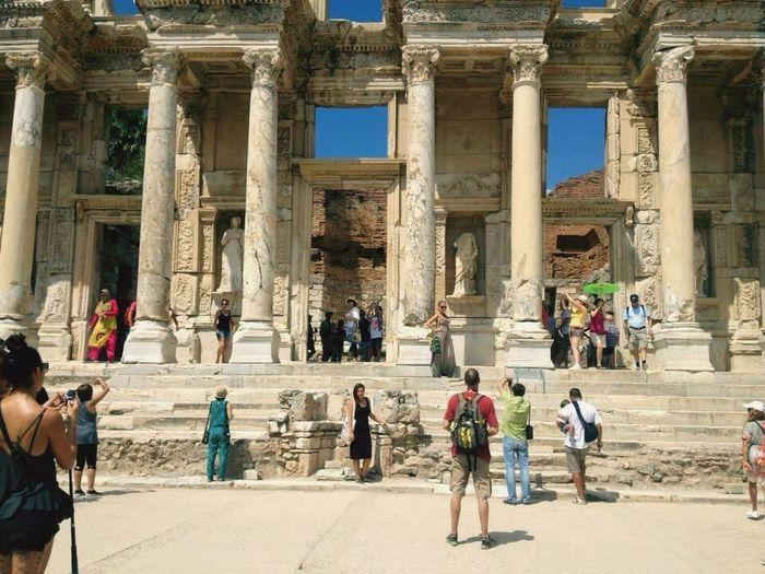 Efesantikşehir Izmir Efes Efes Antik Kent Turkey Efes Kütüphanesi