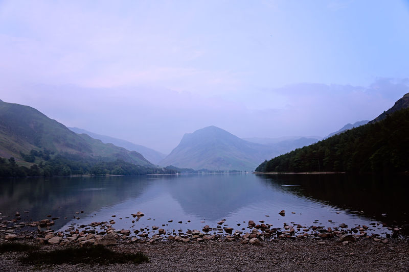 Beauty In Nature Buttermere Cloud - Sky Idyllic Lakescape Lakescape Collection Lakescapes Lakeshore Mountain Mountain Range Nature Non-urban Scene Pebbles Scenics - Nature Shoreline Sky Tranquil Scene Tranquility Water The Great Outdoors - 2018 EyeEm Awards