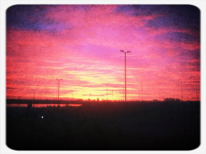 Early morning at Stanstead airport