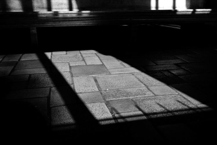 Tile Shadow Sunlight Indoors  The Way Forward No People Built Structure Architecture Close-up Day Blackandwhite Tranquility Focus On Foreground Fujifilm_xseries Straightfromcamera Sky Lowkeyphotography Depression - Sadness Full Length Black Background Eyemphotography Beauty In Nature Available Light Light And Shadow Backgrounds Low Angle View