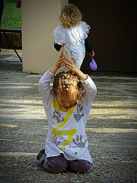 Celebration Carnaval Enfance ! ❤ Enfants Childrens Fetes Creativity Confetis