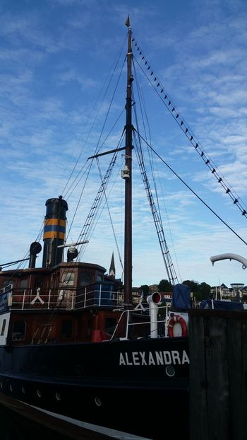 Dampfschiff Steamboat Alexandra Harbour Hafen Flensburger Förde Flensburg Flensburger Hafen Ships Boats Steamship Mypointofview Outdoors