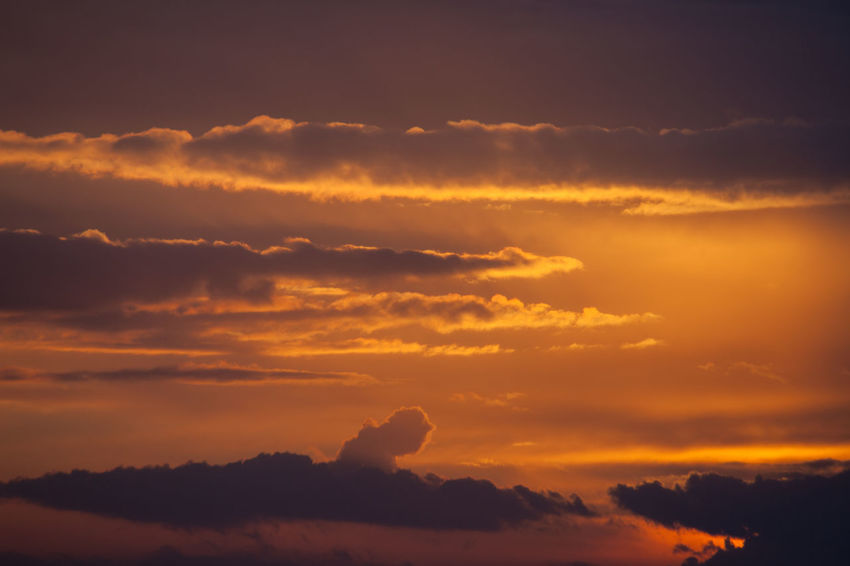 Beauty In Nature Cloud - Sky Day Dramatic Sky Idyllic Nature No People Orange Color Outdoors Scenics Silhouette Sky Sunset Tranquil Scene Tranquility Tree