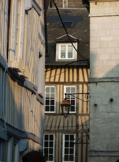 Honfleur Honfleur, France Old Town Architecture Building Exterior Built Structure Day No People Outdoors Residential Building Window