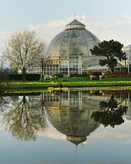 Reflection Symmetry Tree Outdoors EyeEm Peaceful Spaces EyeEmNewHere Conservatory DetroitMichigan Detroitlove Pure Michigan Reflection Obsession EyeEm Selects Detroit, MI Detroit Reflection Perfection  Reflection Perfection  Kayak KayakLife Kayaker Peaceful Moment