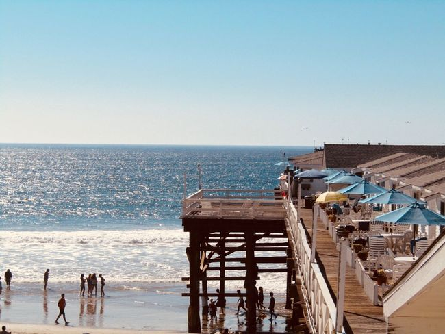 San Diego Pacific Beach California Love California Coast California USA California Sea Horizon Over Water Water Clear Sky Beach Blue Outdoors Day Sky Nature Built Structure Scenics Architecture Beauty In Nature No People Building Exterior (null)Pier