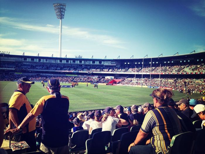 Enjoying Life Hello World Aussie Rules Sports Photography