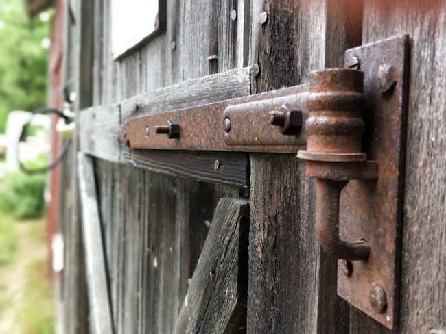 EyeEm Selects Door Close-up No People Day Outdoors Hinged Heavy Door Hinges