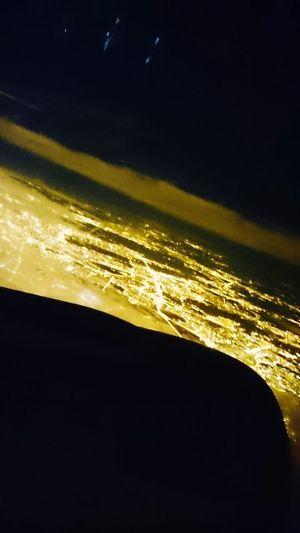 Moscow Nigthlight Nightlife Plane