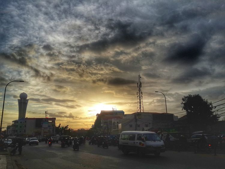 Sunset in Chba Ampov Hello World Popular Photos Check This Out Relaxing Cambodia Tour Cloud And Sky First Eyeem Photo Sunrise_sunsets_aroundworld Popular Popular Photo
