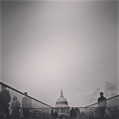 St Paul's & Millennium Bridge Pictapgo IPSContest Love Tweegram instagood photooftheday iphonesia instamood igers instagramhub picoftheday instadaily bestoftheday igdaily instagramers webstagram follow statigram life bridge stpauls