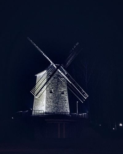Windmill Architecture Outdoors Korycin Poland Podlasie