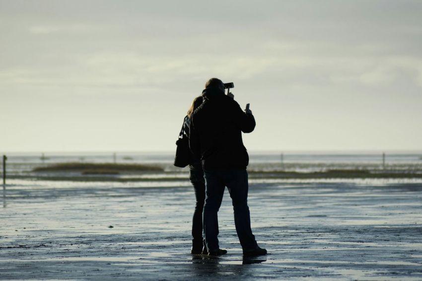 Selfi Selfie Portrait Selfie ✌ People Menschen Watt Wattenmeer Nordsee Nordseeküste Nordsee Feeling🐚🌾 Wattwandern Wattwanderung Wattwanderer Tourism Tourist Tourist Attraction  Tourism DestinationNature Westerhever Nordfriesland Eiderstedt Sankt Peter-Ording