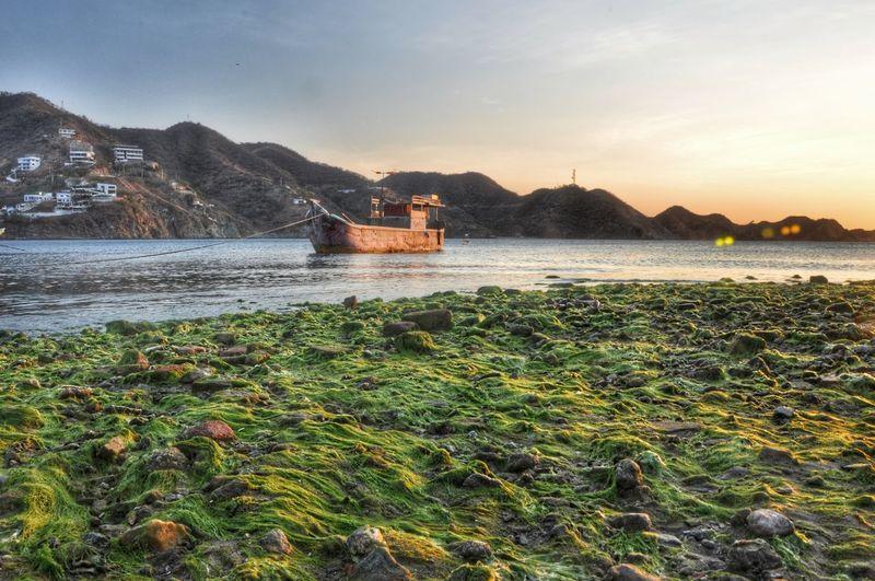Nature Photography EyeEm Nature Lover Colombia Colour Of Life EyeEm Best Shots - Sunsets + Sunrise Sunset_collection Fishing Boat Seascape EyeEm Best Shots - Nature
