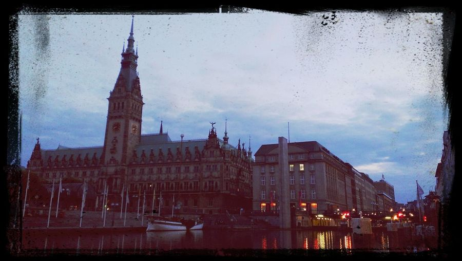 Rathaus Deutschland Hamburg Enjoying The View