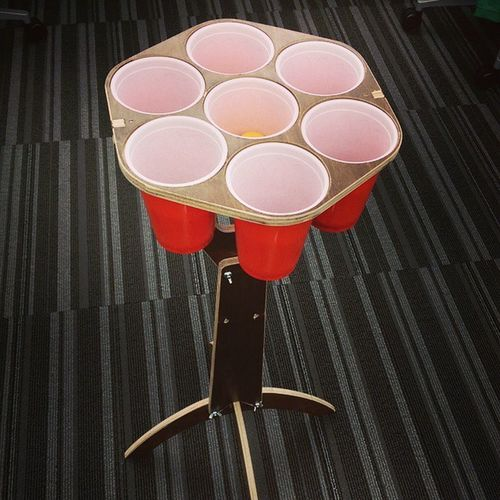 Pong -o /why this office is amazing Cubewars Beerontap