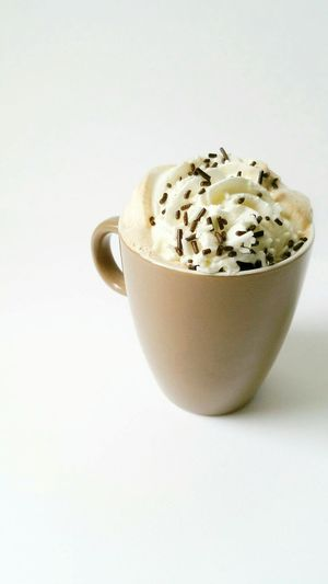 Coffee Time Whipped Cream Enjoying Life 2016 Chocolate Covered Hagelslag chocolade Koffie Slagroom