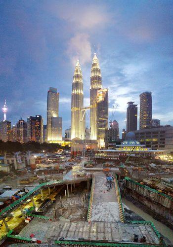 Kuala Lumpur City Centre Hanging Out Taking Photos KLCC Tower Suria KLCC Klcc Kuala Lumpur Malaysia