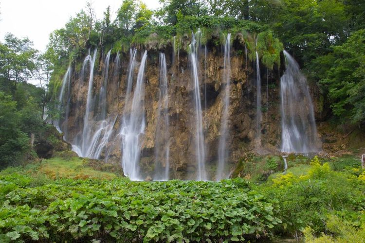 Plitvici National Park Plitvice Lakes National Park Plitvice National Park No People Waterfall Waterfalls Nature