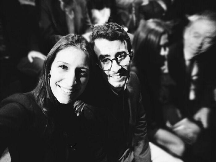 Madrid Fashion Week ❣ Madrid Madridfashionweek Two People Friendship Happiness Smiling Arts Culture And Entertainment Party Dress Stylish Focused Photo EyeEmBestPics EyeEm Gallery Photography Young Women Opticalia