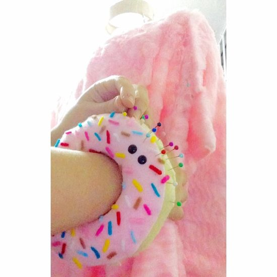💗🐸🍭 Laviniafenton Design Clothes Cute Ideas Handmade Needlecase Donut Cool Mywork