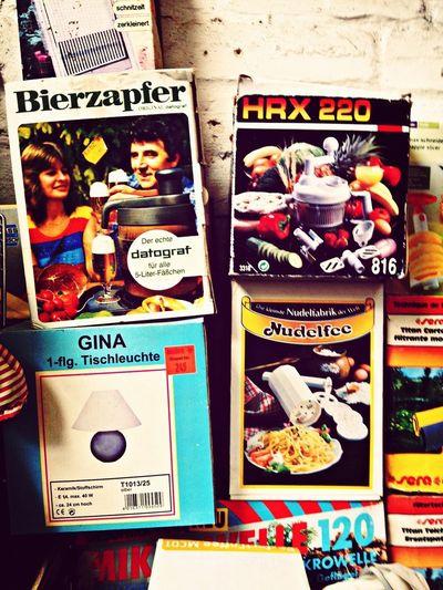 Bierzapfer, HRX 220, Gina und die Nudelfee.