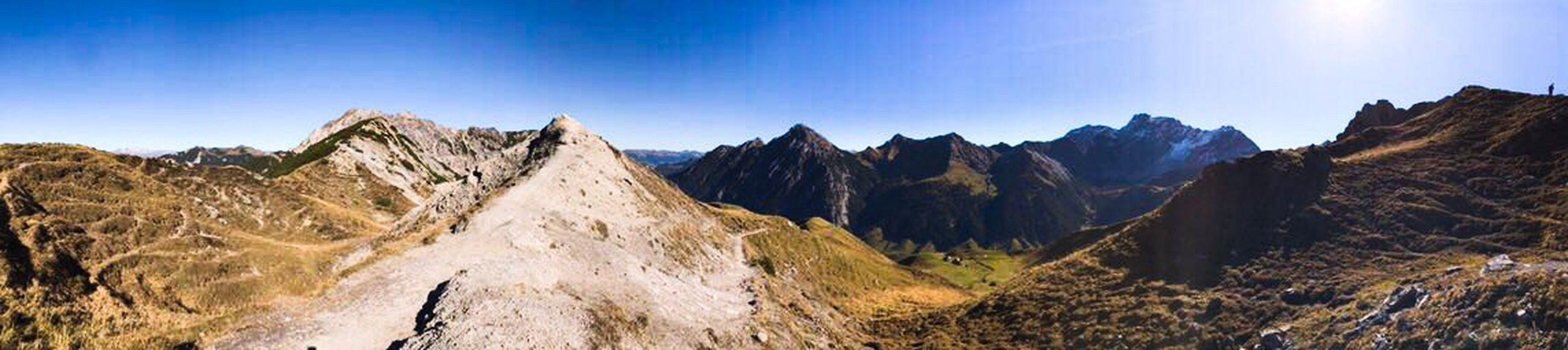 Sareiserjoch Liechtenstein Malbun Sareiserjoch Mountain Panoramic Landscape Nature Sky Mountain Range Outdoors