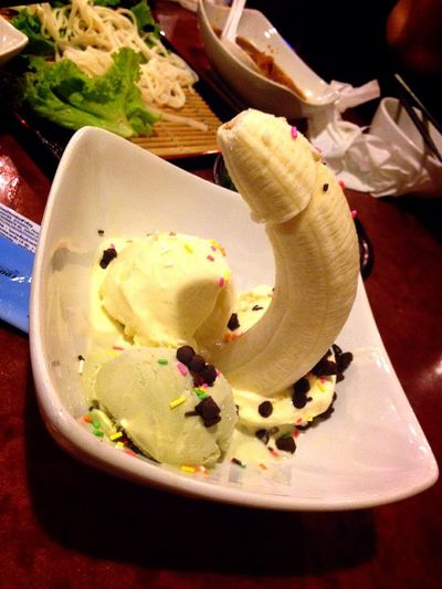 Ice Cream Dessert Banana Vanilla Dick Penis WTF Shakariki 432 Yummy Iphone 5