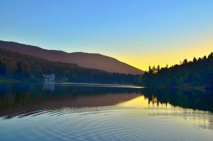 Lake Lakeview Bolu Golcuk Sunset OpenEdit Eyem Best Shots Eyemnaturelover Beautifulview Naturalparadise Mountains