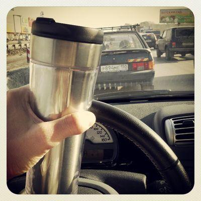 кофе пробки это как обычно( но солнце радует!