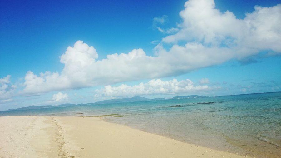 Relaxing Sea View Enjoying Life Beautiful Island