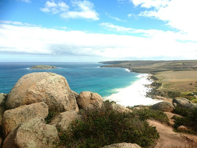 View from Rosetta Head in Encounter Bay Adventure Climb Bluff South Coast Australia