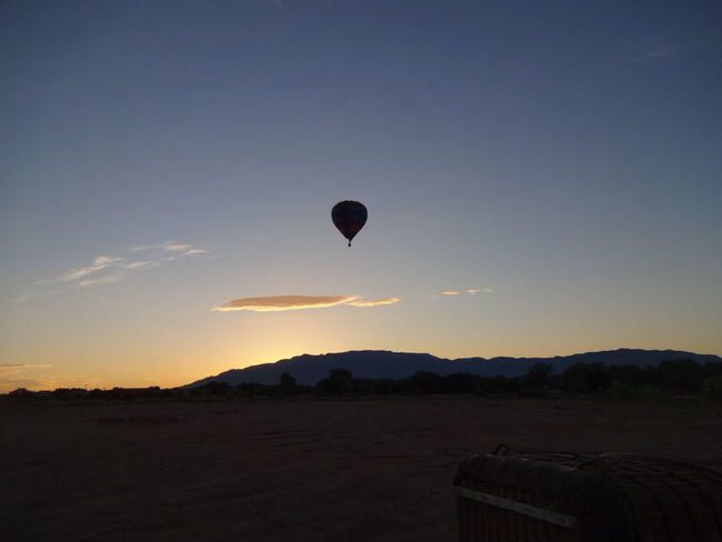 Nature On Your Doorstep Sunrise Hotairballoon Newmexico