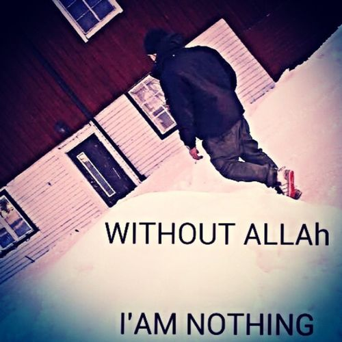 Allahwakbar Allah Lovegod Loveislam withoutallahiamnothing utan gud jag är ingenting.... gud