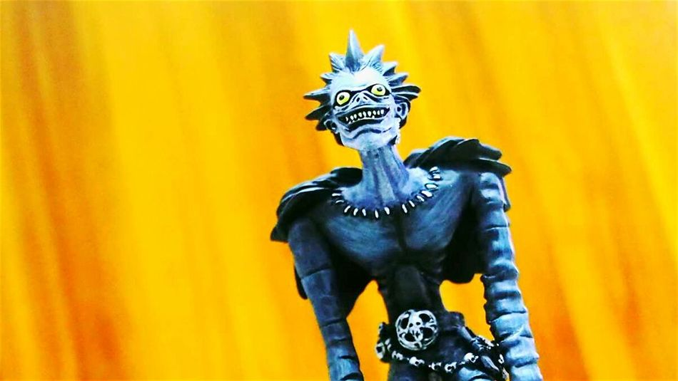 ...bored to death Ryuk Death Note Anime Animelover Sculpture Japanese Culture Japanese Art Made In Japan Asuopo Death