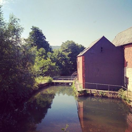 Not the water view I was looking for...but it will do! Countryside Computing Cotswolds Watermill