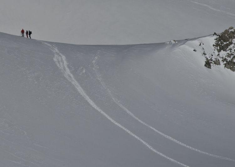 Alps Italy Courmayeur Ice Val D'Aosta Valle D'Aosta Alps Cold Temperature Freeride Glacier Mont Blanc Monte Bianco Outdoors Scialpinismo Sky Skyalp Snow Sport Valle D'aosta Winter