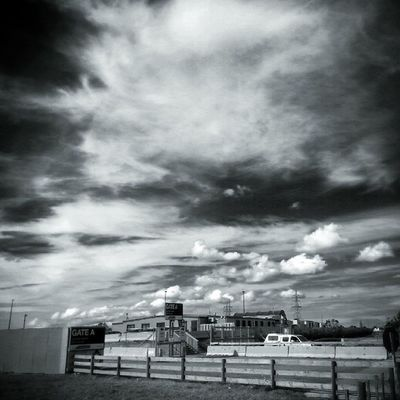Snapseed Auckland Newzealand Teatatu harbourview monochrome clouds