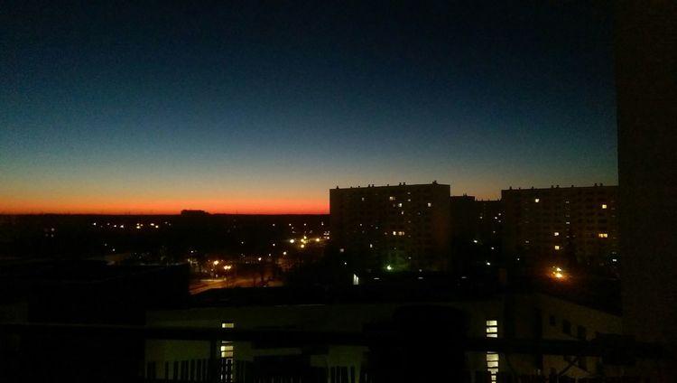 Świt/dawn Dawn Sunrise Daylight Endipl Morning Poland Legionowo