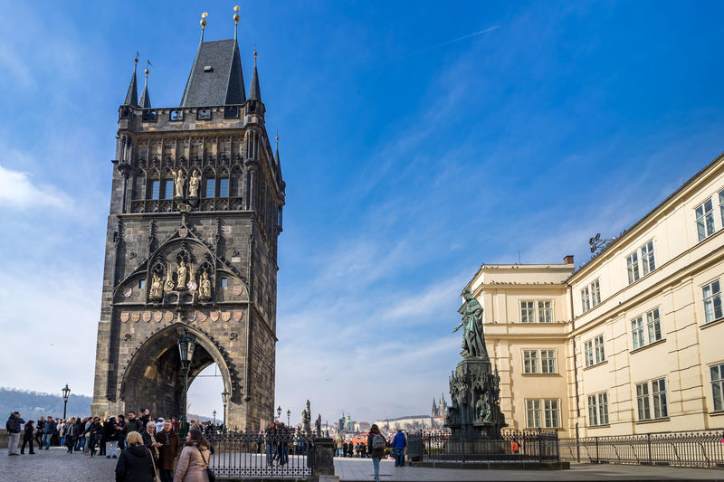 Old town and charles bridge