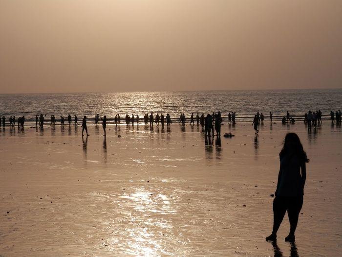 Sunset Beach Godscreation Black And Yellow  Beach Photography Beautifulview NoEditNoFilter