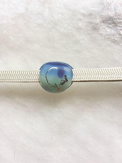 Traditional Craft Gold Leaf Glass Craft Sash Clip Obidome Handmade Jewellery Handmade Crafts Japan Glass Art