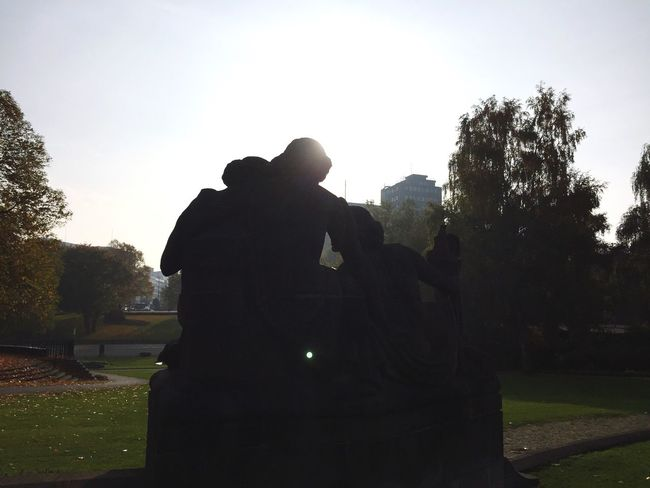 Statues From Behind