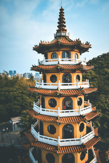 A pagoda from