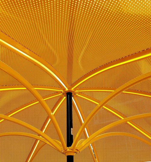 Yellow Abstract Selected For Partner Selected For Premium EyeEm Premium Collection Eyeem Premium On Market Richmond, VA Umbrella Yellow Color Abstract Abstract Photography Abstract Backgrounds Pattern Full Frame Backgrounds Architecture Shelter Sunshade Canopy Outdoor Cafe Architectural Design Architectural Feature Architecture And Art Parasol