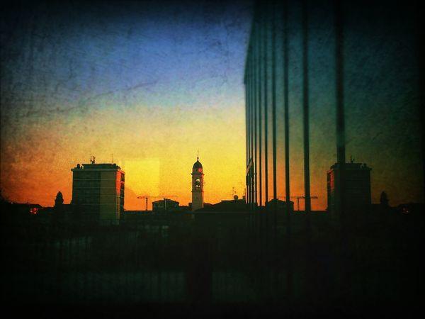 Urbansunset Urban Sunset Dusk